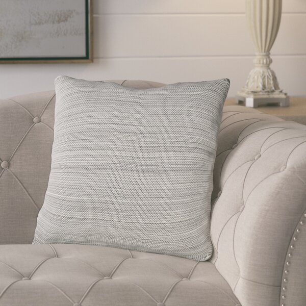 Carson Knit 100% Cotton Throw Pillow by Gracie Oaks
